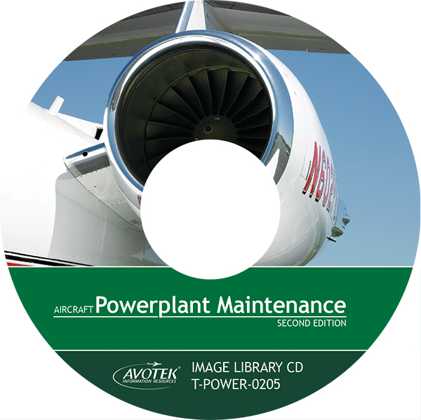 Volume 4: Aircraft Powerplant Maintenance - Image Library CD
