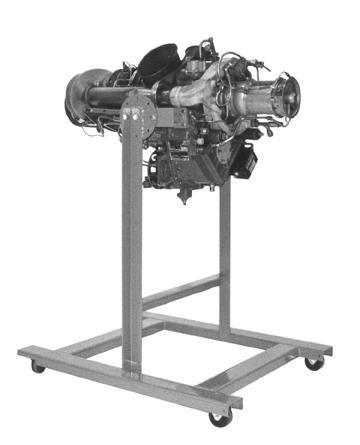 Rolls-Royce/Allison 250 Series Tear Down Engine E49