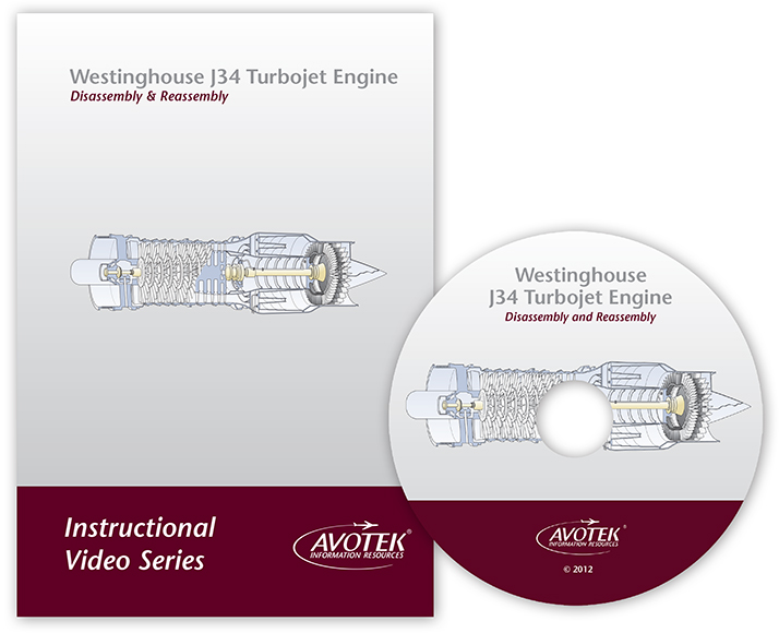 Instructional Video - Westinghouse J34 Turbojet Engine Assembly & Disassembly