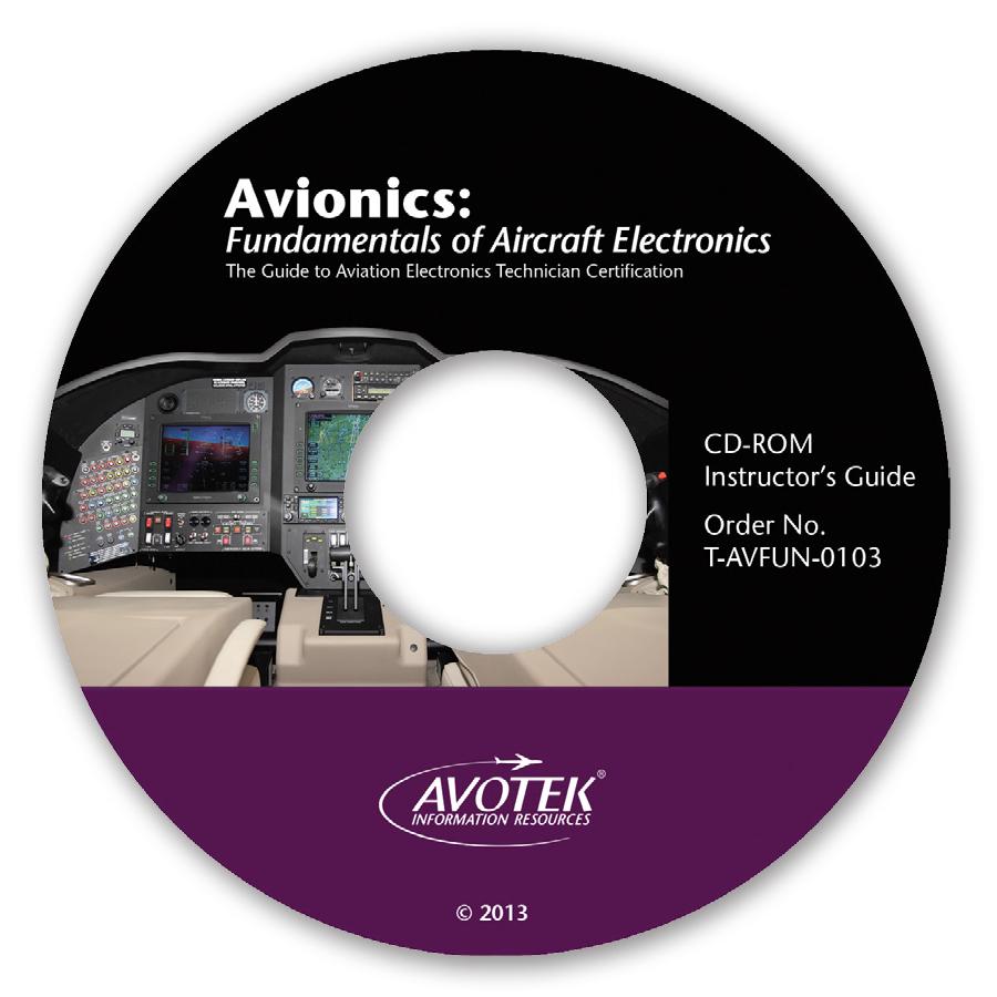 Avionics: Fundamentals of Aircraft Electronics - Instructor Guide CD