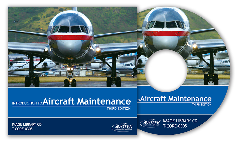 Volume 1: Introduction to Aircraft Maintenance - Image Library CD