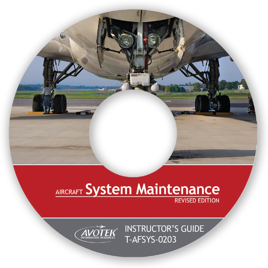 Volume 3: Aircraft System Maintenance - Instructor's Guide CD
