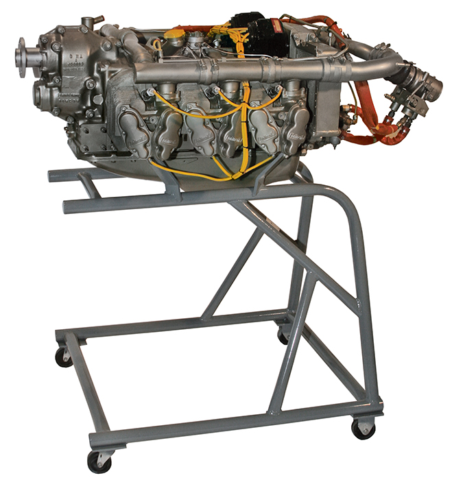Teledyne Continental Motors GTSIO-520 engine E33
