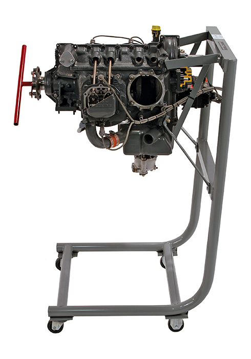 Cutaway AVCO Lycoming O-320 Engine E34