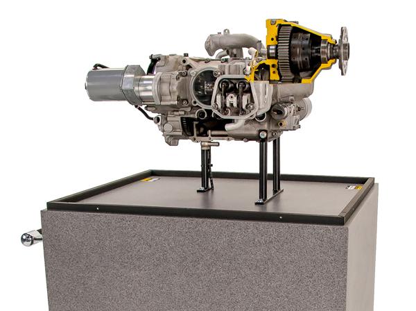 Rotax Cutaway E74