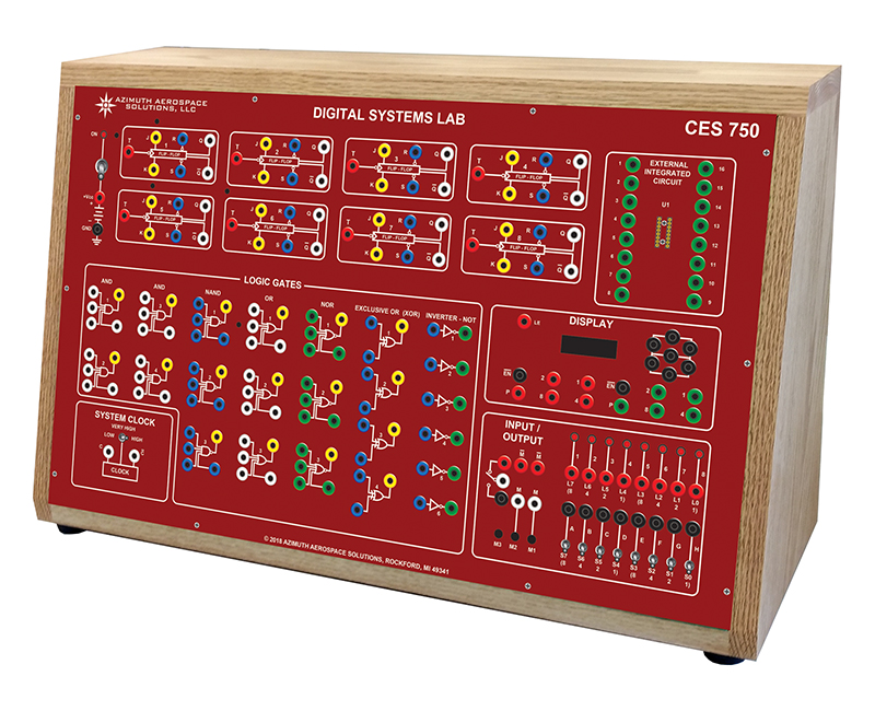 CES 750 Exploratory Digital Electronics Lab Trainer