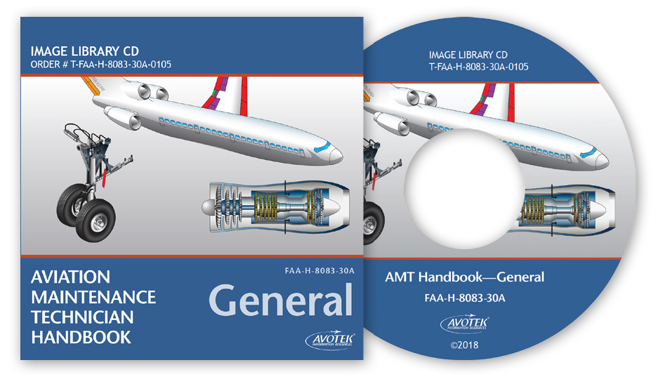 FAA AMT Handbook - General Image Library CD
