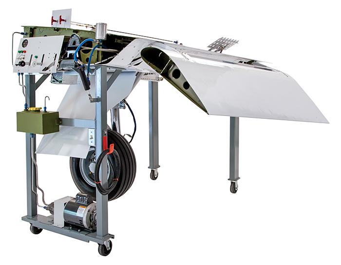 Turbine Hydraulic Landing Gear System Trainer AL45