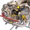 Teledyne Continental Motors GTSIO-520 cut away model E50