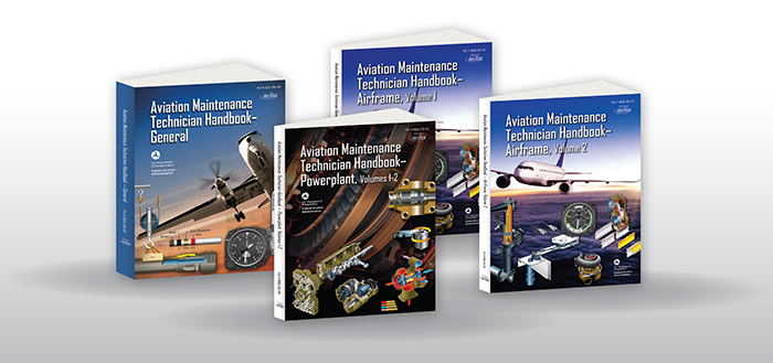 FAA 8083 AMT Handbook Series - Textbook Set