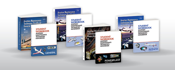 FAA 8083 AMT Handbook Series - Textbook/Workbook Set