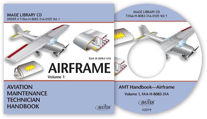 FAA AMT Handbook - Airframe Vol.1 Image Library CD