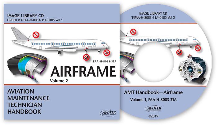 FAA AMT Handbook - Airframe Vol.2 Image Library CD