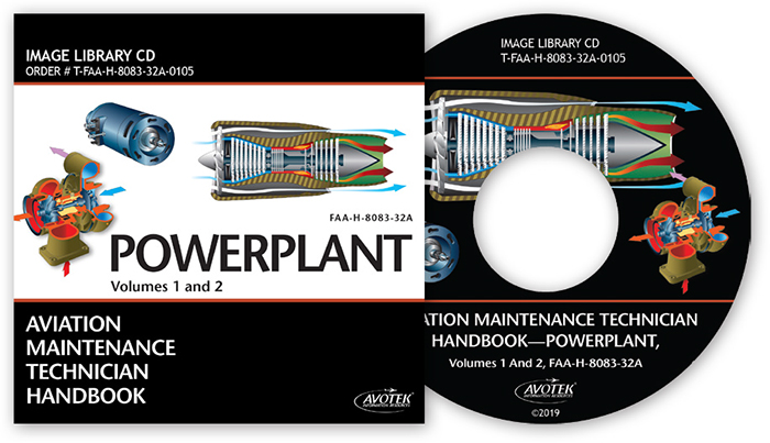 FAA AMT Handbook - Powerplant Image Library CD