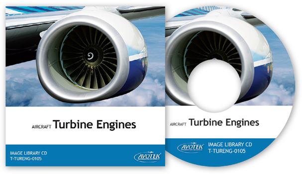 Aircraft Turbine Engines - Image Library CD