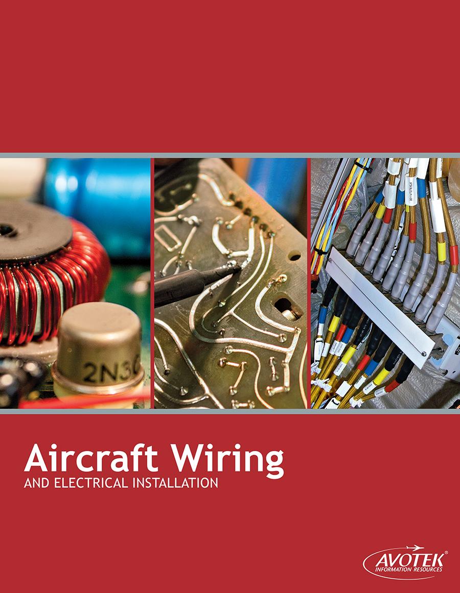 Aircraft Wiring Electrical Installation Textbook Avotek Basic Diagram Ac Electric Cvr