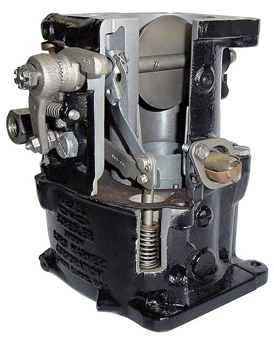 Roots Supercharger Carbs: Carburetor Cutaways